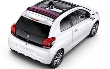 Réserver Peugeot 108 opentop
